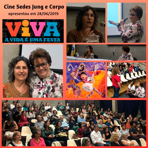 Aconteceu no Sedes – Cine Sedes Jung e Corpo – junho2019