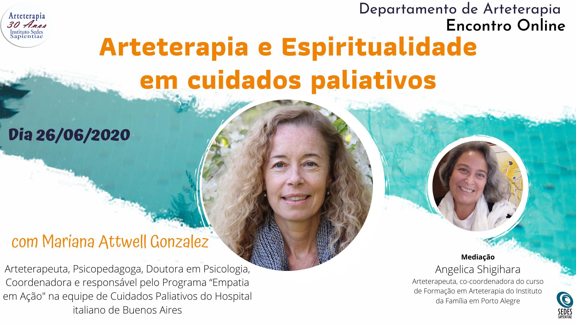 Arteterapia e Espiritualidade em cuidados paliativos
