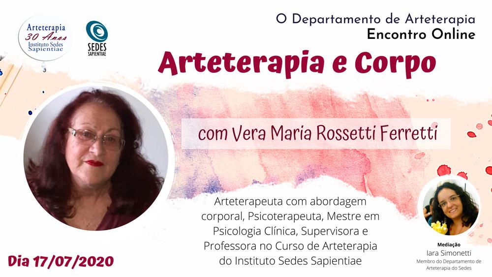 Arteterapia e Corpo com Vera Ferretti