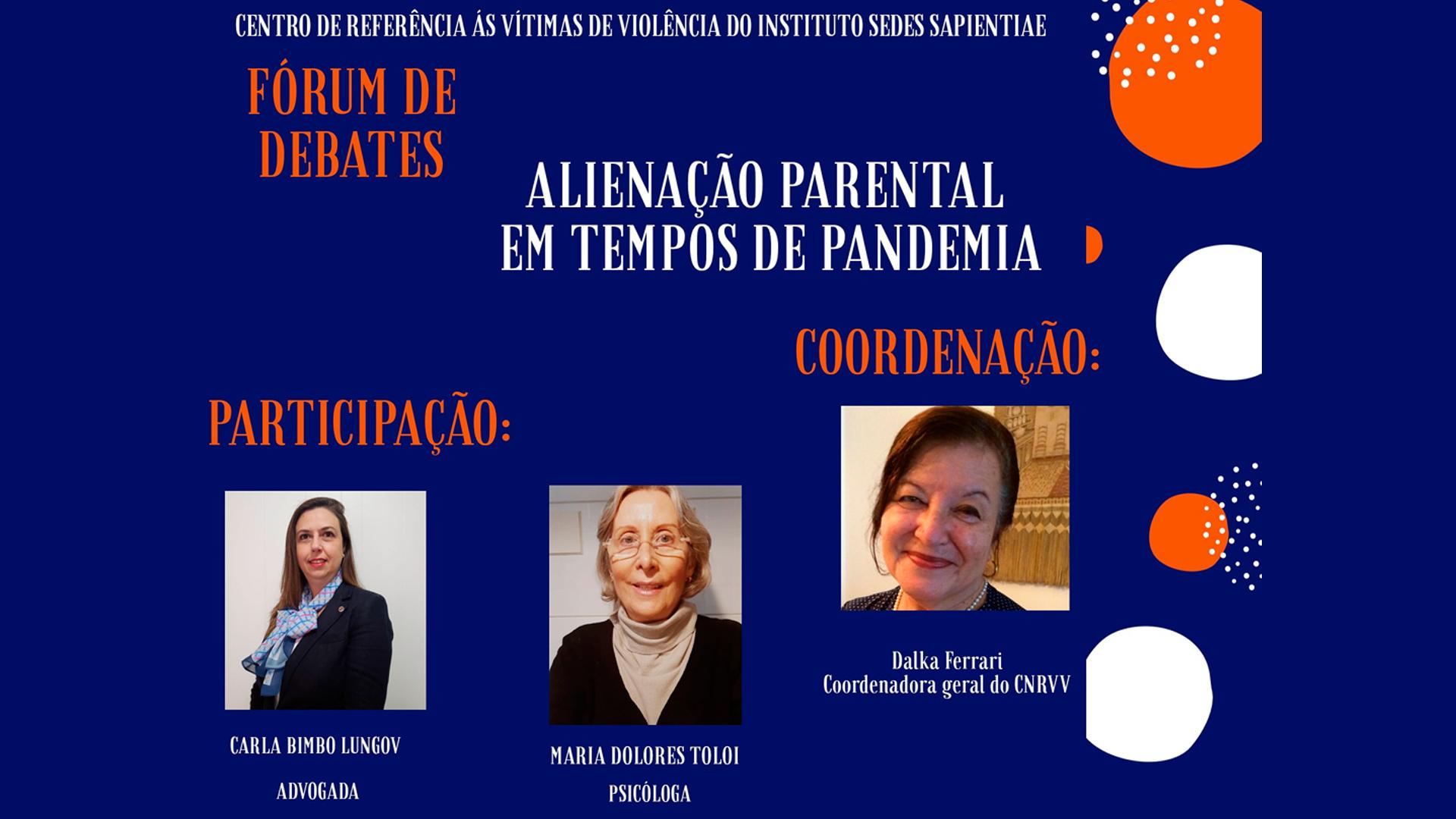 Fórum de Debates – CNRVV – julho2020