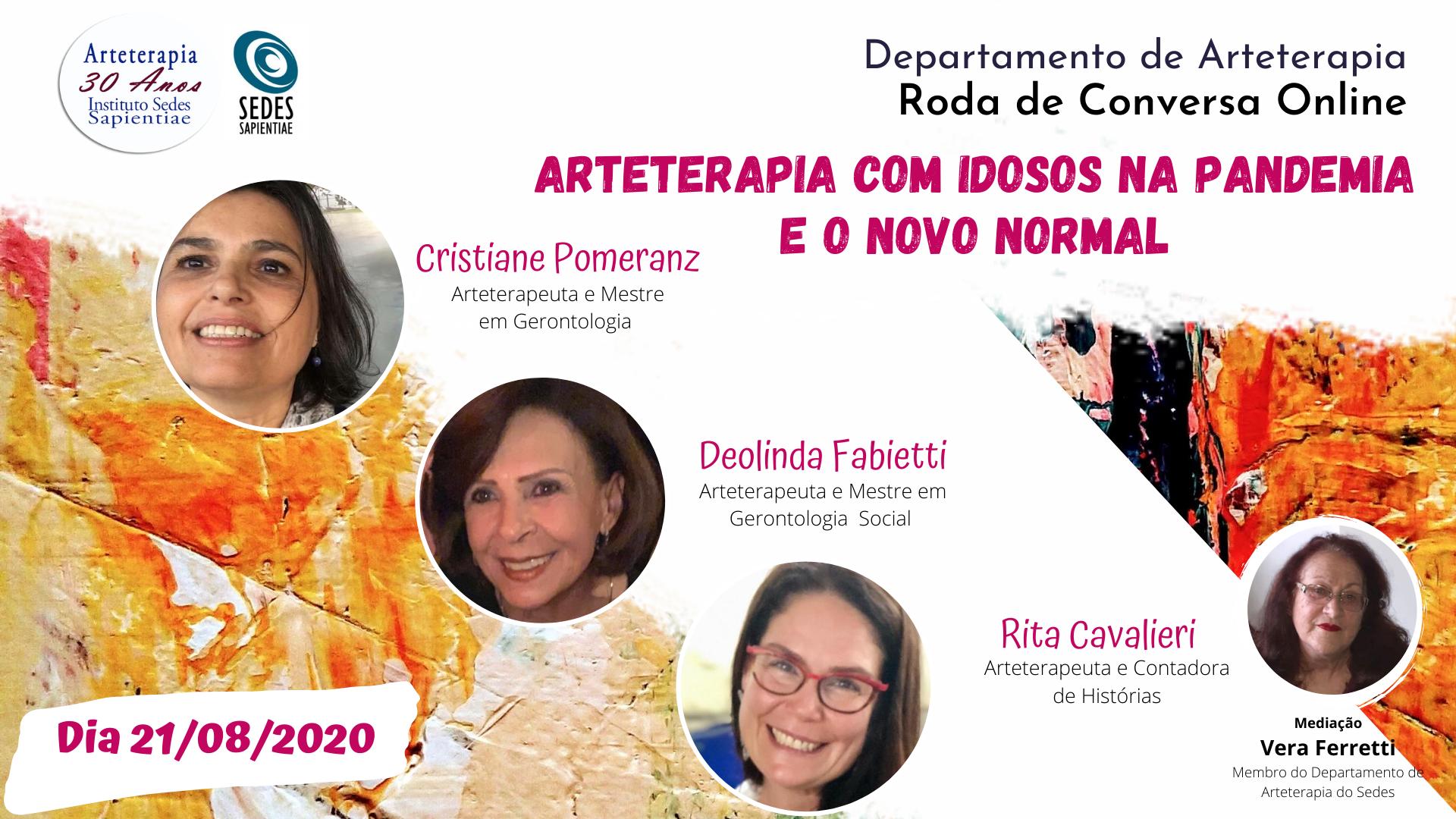 Arteterapia com Idosos na Pandemia e o Novo Normal