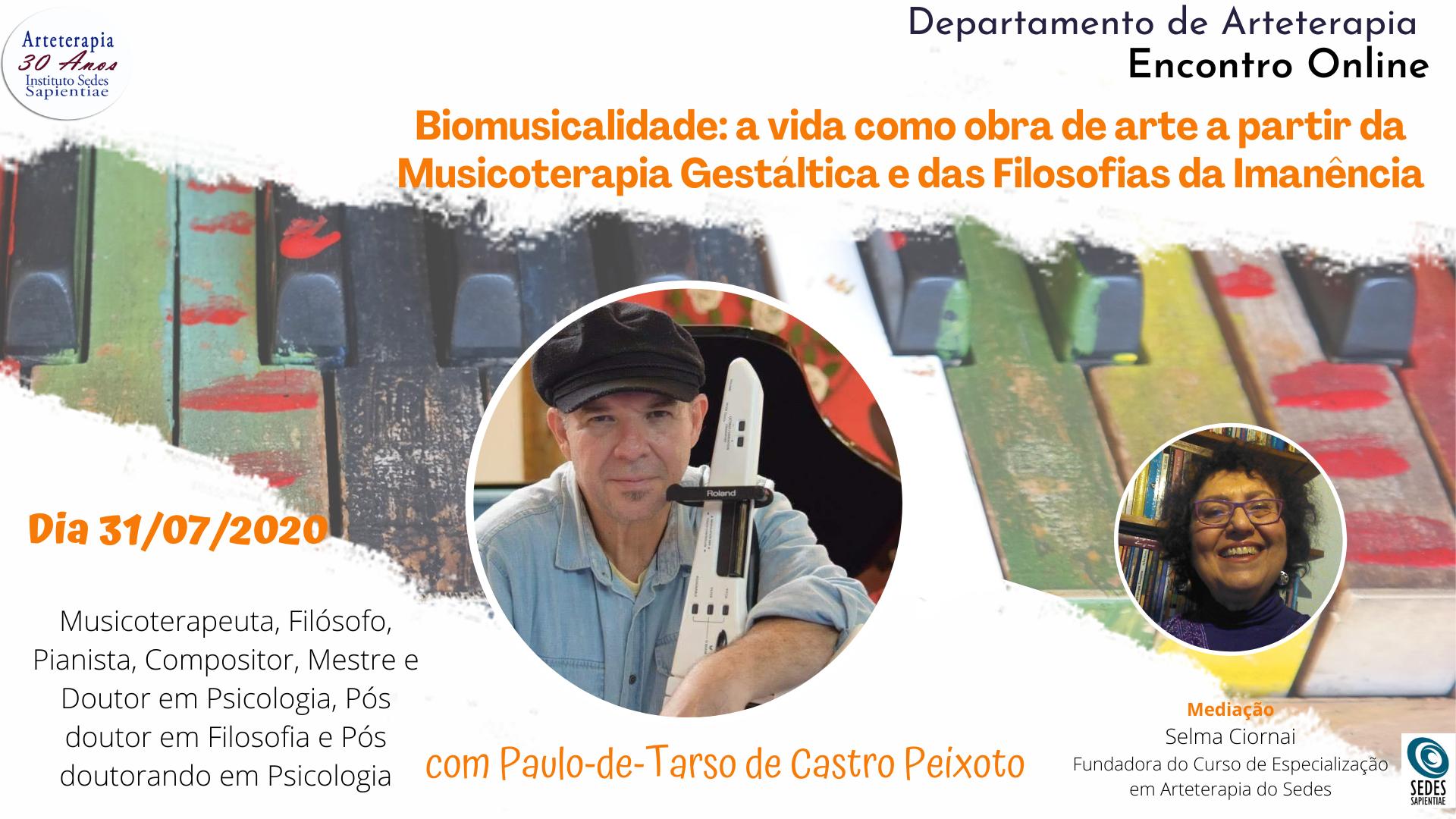 Biomusicalidade com Paulo de Tarso de Castro Peixoto