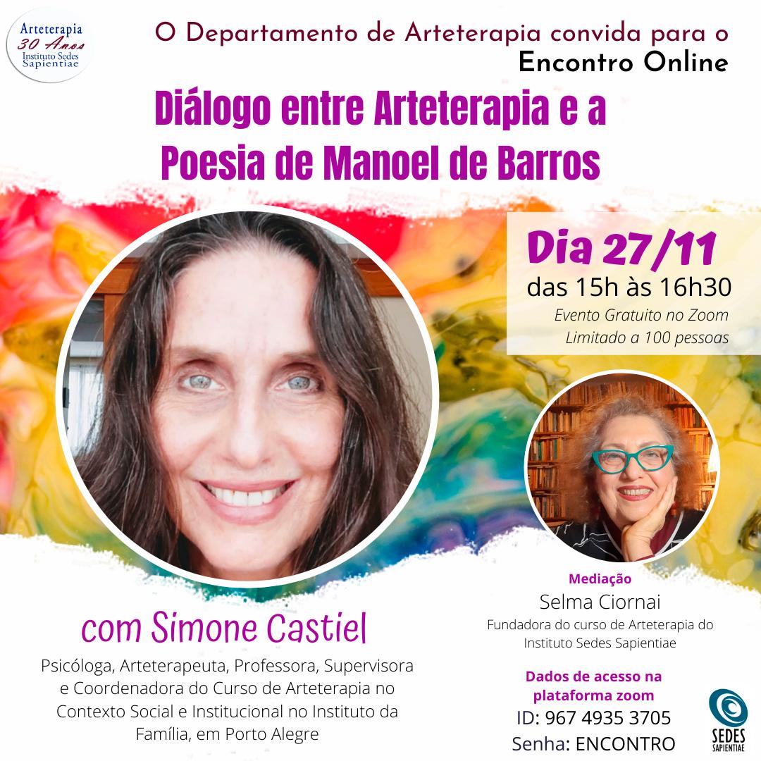 Diálogo entre Arteterapia e a Poesia de Manoel de Barros