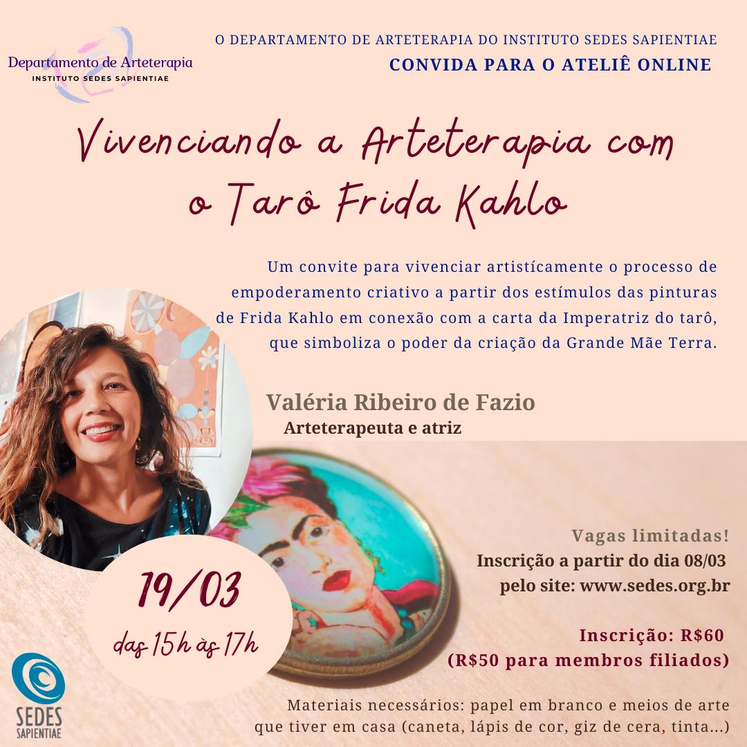 Vivenciando a Arteterapia com o Tarô Frida Kahlo