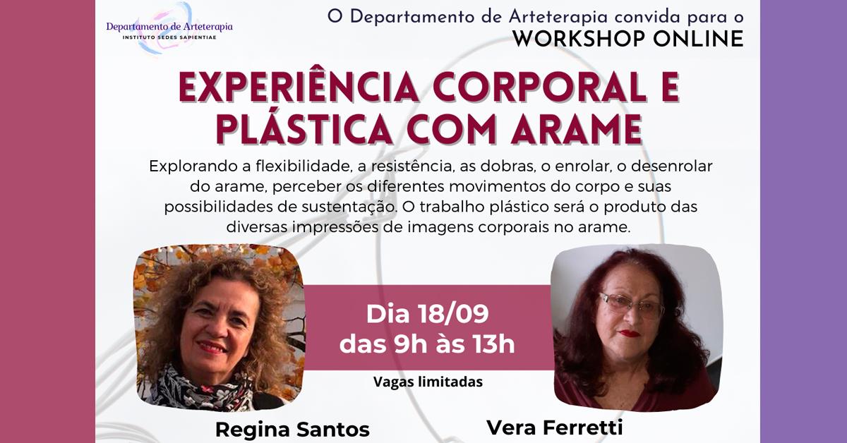 Workshop – Experiência Corporal e Plástica com Arame