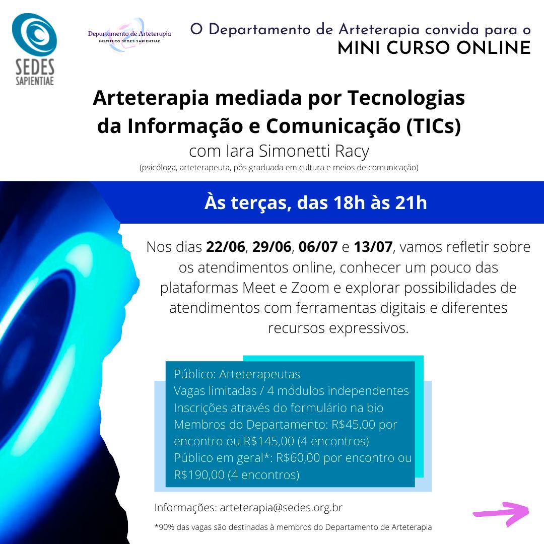 Arteterapia mediada por Tecnologias da Informação e Comunicação (TICs)