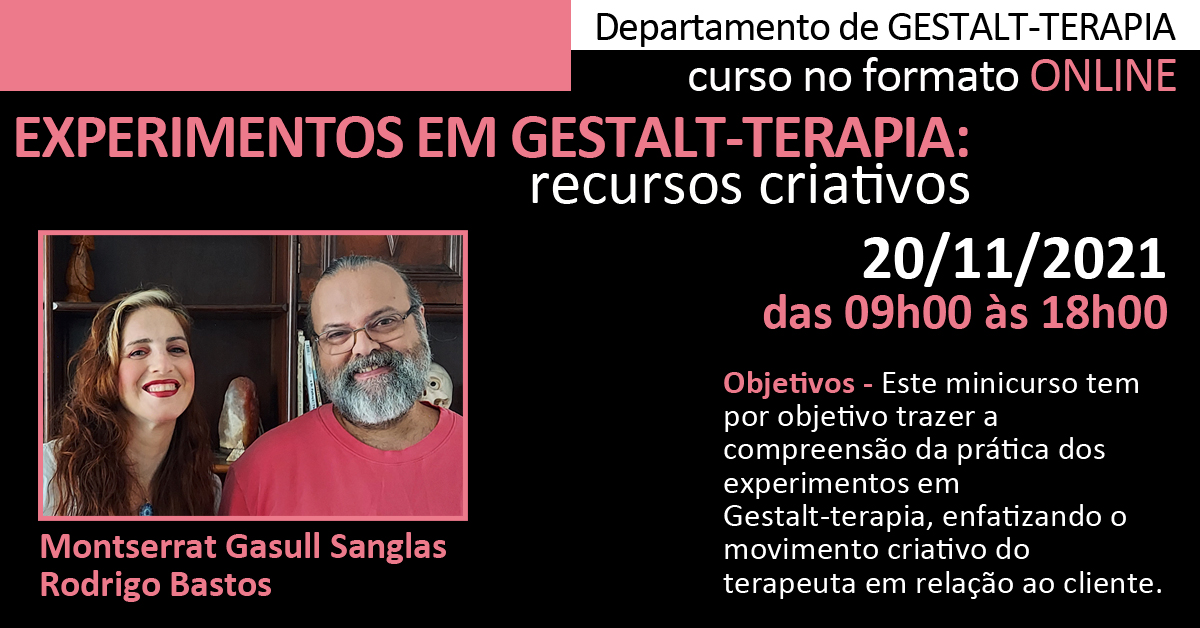 Experimentos em Gestalt-terapia: recursos criativos